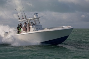 SeaVee 340Z with Simrad gear in Duck Key FL
